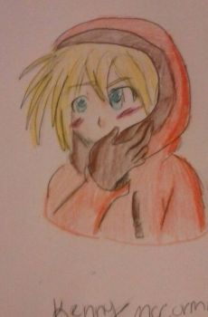Kenny McCormick in anime ( South Park. ) by davelovergirlsonic