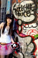 graffiti queen VI by paradoxphotography