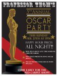 OSCAR Party advert by SimpleSimonDesign