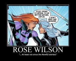 Motivation - Rose Wilson by Songue