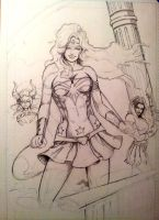 Wonder Woman WIP 04 by Pigbert