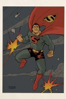 Superman 1947 by anthonymarques