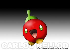 Bombble. The apple PKMN by Dziesma