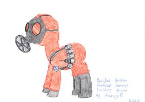Ponified MGS Guard by ArroyoPl