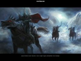 Witch King of Angmar by michal4269
