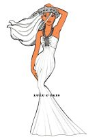 Disney Princess Wedding Dresses: Pocahontas by lulu-ibeh