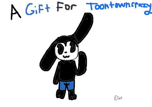 a gift :33 by Dinosar222
