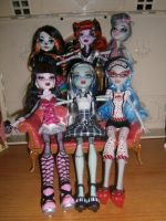 Monster High groupe 2 by elodieland