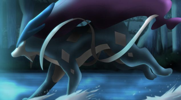 suicune by All0412