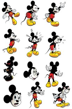 Mickey Mouse by michael-bowers