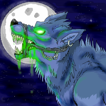 alien wolf by timmy-gost