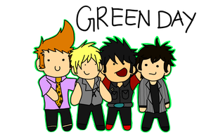 Chibi Green Day by yinyang123ofroblox