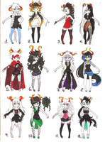 Fantroll Adoptables V CLOSED by MkPropus