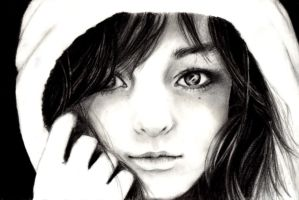 Quick sketch portrait by MirielDesign
