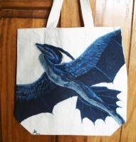 Dracheron canvas tote by Oreramar
