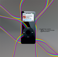 iPod advertisement by StrangeProgram