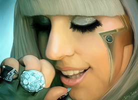 Lady Gaga - includes video by icha-icha