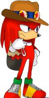 knux the echidna by ss2sonic