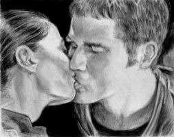 John and Aeryn of Farscape by Catluckey