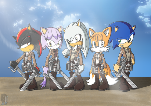 Attack on Mobius by AZ-Derped-Unicorn