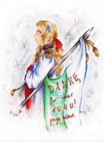 APH Thank you all!  - Saxony - by MissGoldenweekArt