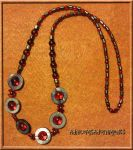 Sanguine Necklace by RavingEagleMedia