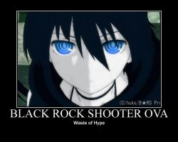 Black Rock Shooter OVA Poster by SqueakyTachibana