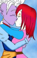 Beth and Shin Kiss by Energywitch