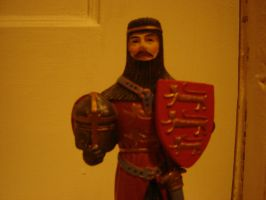 King Richard I Statuette 02 by presterjohn1