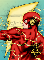 The Flash by Blackmoonrose13