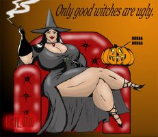 Bad Witch by BrotherVirgil