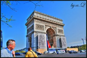Arc de Triomphe by amna-alq
