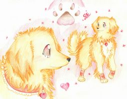 Hope's Dog Form~ by foreverbluejeans