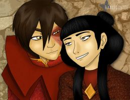 Zuko x Mai by RancidAlice