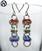Simple Pride Earrings by Zeroignite