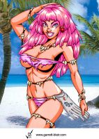 Savage Land Jem by Mythical-Mommy