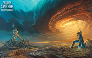 'Words of Radiance' cover art wallpaper (revised) by ArcangHell