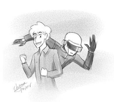 MSRDP. Daft Punk (Thomas) profile pic by Maiden-Chynna