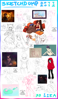 Sketchdump 2011-2012 by liea