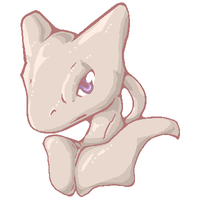 Mewtwo by zafara