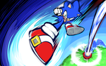 Sonic | Rocket Kick by ishmam