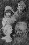 Some faces by Adzerak
