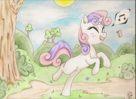 Sweetie Belle by DeadliestVenom