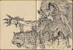 Sketchbook - Weird Goat-Wolf-Leopard Dude by ToPpeRa-TPR