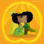 The Princess and the Frog T-Shirt Design by Belle-Lolita-Designs