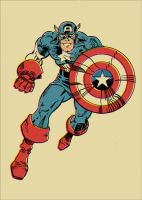 Captain America by markwelser