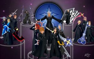 KH 358 2 Days: Organization 13 by Starstealer24