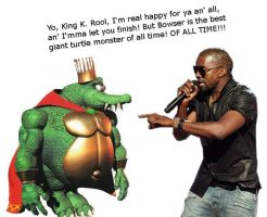 Kanye will let K. Rool finish by dylrocks95