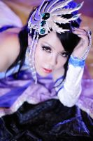 Zhen Ji - Sleeping on Cao Pi's jacket by maocosplay