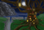Tree House by EternityBlue